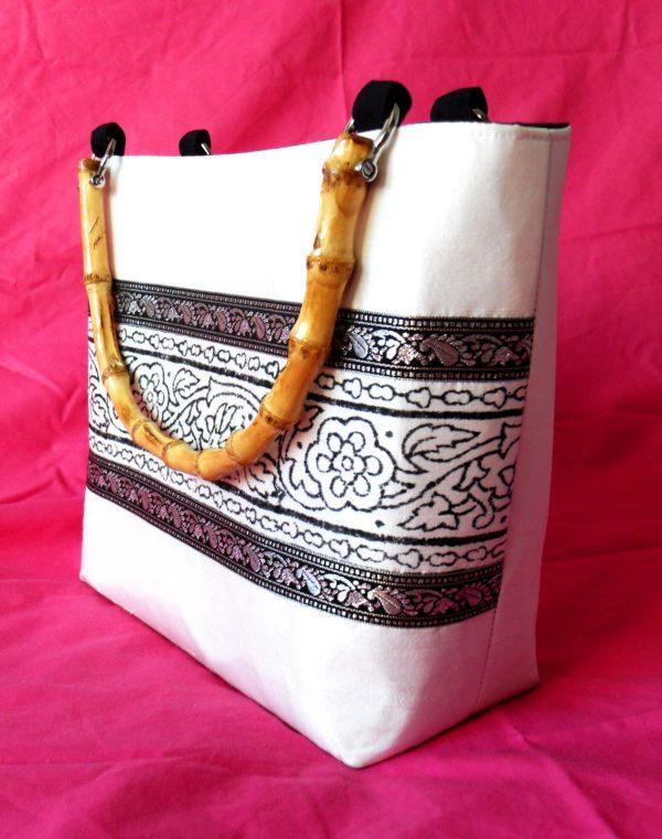 Handmade bag Mono full side front