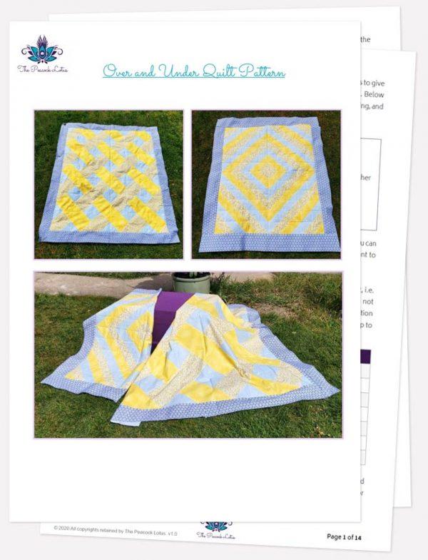 Quilt pattern PDF photo