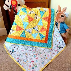 Peter Rabbit kaleidoscope. Bespoke commission