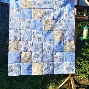 Handmade quilt Dumbo 'Nearly there' range design full front